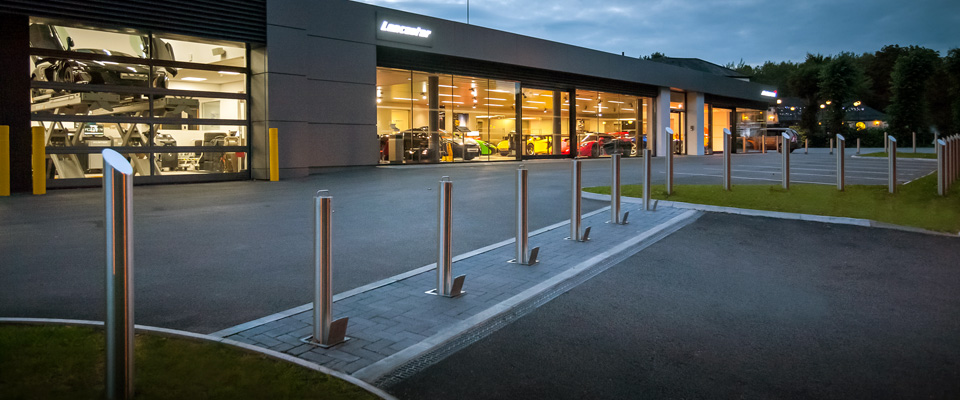 Forecourt for McLaren in Ascot Berkshire